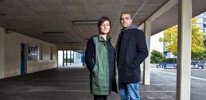 Portrait de Hakim Zouhani et Carine May pour In Situ et Opixido